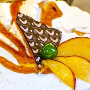 food photography - cake with fuits and chocolate - étel fotó torta gyümölccsel és csokoládéval
