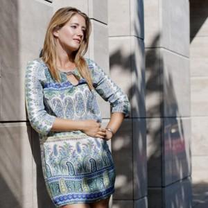 Modell photo of blonde young woman - fiatal szőke nő modell fotó