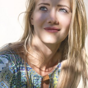Modell photo face with shadows - modell fotó arckép árnyékokkal