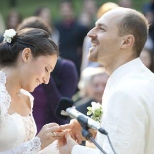 Wedding photos - portrait photo, ring - esküvői fotó - portré, gyűrű szertartás
