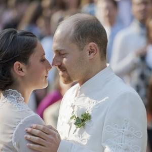 Wedding photos - portrait photo bride and bridegroom - esküvői fotó - portré menyasszony és vőlegény